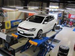 """画像5: iSWEEP """"リジカラ"""" サブフレーム リジッドカラー for Volkswagen"""