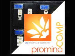 画像1: PROMINA COMP Bセット for Audi Q5 パノラマルーフ車 2009年〜 [PMC655/PMC655W]