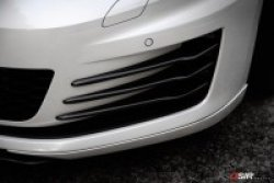 画像4: OSIR FCS GT7 FG フロントスポイラー FRP 2pcs for Golf7 GTI