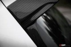 画像2: OSIR FIN GT7 カーボンリアウインドウ フィンスポイラー 2pcs for Golf7 GTI/R
