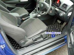画像3: FOB-STYLE 車種専用フロアマット 運転席1枚 (チェック/ストッパー:回転タイプ)