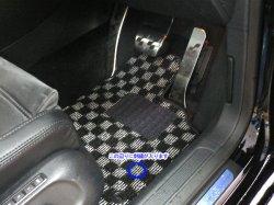 画像2: FOB-STYLE 車種専用フロアマット 運転席1枚 (チェック/ストッパーなし)