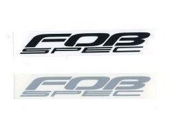 画像2: FOB-SPEC ロゴステッカー