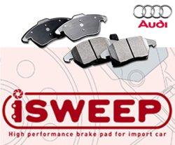 画像1: iSWEEP ブレーキパット for Audi (リア用)