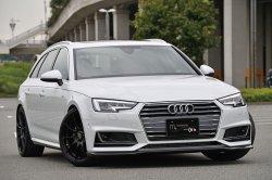 画像1: m+ Front Lip Spoiler for A4(8W) Sedan/Avant S-line