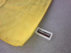 画像3: KIRKLAND マイクロファイバータオル1枚