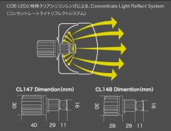 画像3: core LED FOG BLUB 6000K 16W H8/H11/H16