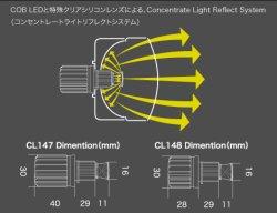 画像3: 【今月の特価商品】core LED FOG BLUB 6000K 16W H8/H11/H16