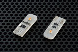画像1: core-LED W10D-A T10 AMBER 2pcs
