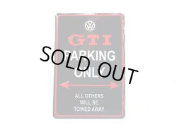 画像1: VW GTI Only パーキングサイン