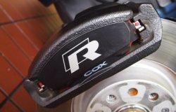 画像4: COX ブレーキパッドセット for Golf 7 R