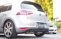 画像2: COXステンレスマフラー VW Golf 7 GTI用 (Polish Tail)