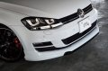 m+ Front Spoiler for Golf 7 TSI