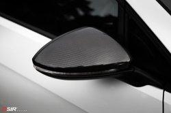 画像2: OSIR MI GT7-R カーボンドアミラーカバー 2pcs for Golf7