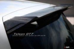 画像1: OSIR TELSON GT7-RS FG リアルーフスポイラー FRP for Golf7 GTI/R