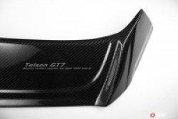 画像2: OSIR TELSON GT7-RS CF カーボンリアルーフスポイラー for Golf7 GTI/R