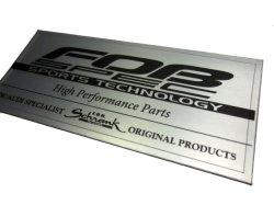 画像2: FOB-SPEC ラベルステッカー 25x60mm
