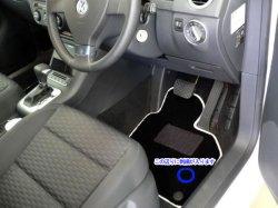 画像2: FOB-STYLE 車種専用フロアマット 運転席1枚 (無地/ストッパーなし)
