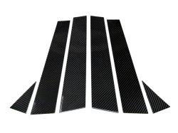 画像1: AutoStyle ブラックカーボンピラーパネル 6pcs Audi A3/S3(8V) Sportback