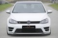 KERSCHER TUNING Frontspoiler Splitter Golf 7R カーボン