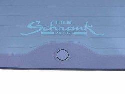 画像1: FOB-SCHRANK ロゴステッカー Type-A (裏貼りタイプ)