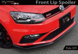 画像2: m+ Front  Lip Spoiler  for Polo GTI(6C)