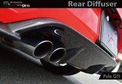 画像2:   m+ Rear Diffuser  for Polo GTI(6C)