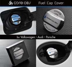 画像3: core OBJ Fuel Cap Cover for Volkswagen・Audi・Porsche