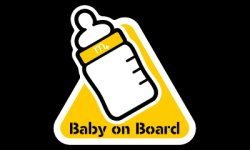 "画像2: m+ Drive's Sign ""Baby on Board"""
