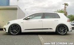 画像3: 【今月の特価商品】Volkswagen Racingline Performance サイドドアデカール /ゴルフ7