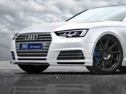 画像1: JMSフロントリップスポイラー for Audi A4(8W)
