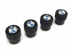 画像2: BMW バルブキャップ BMWマーク(ブラック)