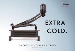 画像1: VWR RACINGLINE OIL COOLER KIT for GOLF7R/GTI /GOLF7.5R/GTI