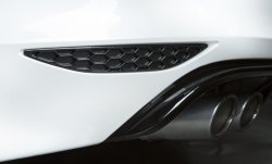 画像1: AUTOTECKNIC Rear Reflector Insert Honeycomb for VW MK7 R