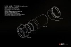 画像4: OSIR RingMASK TTMK3 アルミエアベントダイヤルリング 5pcs for TT/TTS/TTRS(8S)
