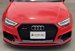 画像1: core OBJ Produced by NEXT Innovation Front Splitter for Audi RS3 Sportback・Sedan(後期)