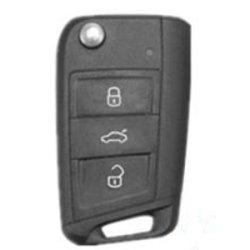 画像2: AutoStyle シリコンキーカバー カーボンルック for VW GOLF7.5/7 Touran(5T) POLO(6C) Tiguan AD1