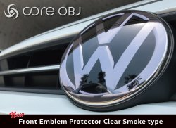 画像1: core OBJ Front Emblem Protector for Volkswagen