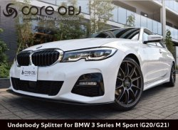 画像1: core OBJ Produced by NEXT Innovation Front Splitter  for BMW 3series M sport(G20/G21)