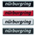 Nurburgring ステッカー 3D(立体)タイプ 2pcs