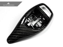 画像2: AUTOTECKNIC カーボンセレクターカバー for BMWスポーツA/T車用