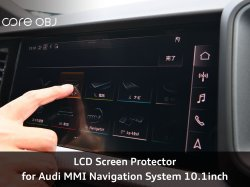 画像1: core OBJ LCD Screen Protector for Audi MMI Navigation System 10.1inch Audi A1(GB)専用