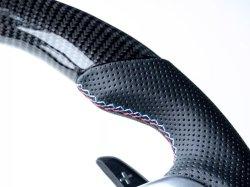 画像2: VERSPIELT CarbonFiber/PerfortedLeatherSteering Wheels BMW F3X