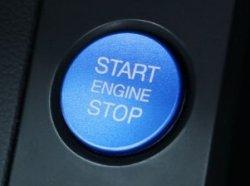 画像4: AUDI Start/Stop Button/Ring BLUE