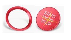 画像2: AUDI Start/Stop Button/Ring RED