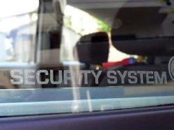 画像1: VWセキュリティーエッジングステッカー