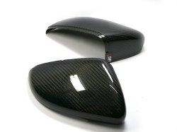 画像1: OSIR  M1 GT6-R Golf6 ドアミラーカバー グロスカーボン